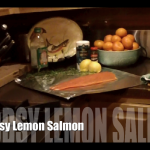 Woodsy-Lemon Salmon (via Giada on FN)